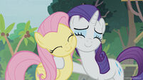 Season 8 promo image - Fluttershy and Rarity
