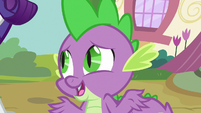 "Spike ""we could start hanging out again"" S9E19"