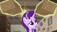Starlight Glimmer looking at the bricks S7E24
