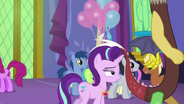 File:Starlight and Discord walk away from Twilight S7E1.png