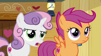 Sweetie --we used to only do stuff to get our cutie marks-- S6E4