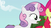 Sweetie Belle --somepony might even come to us-- S6E19