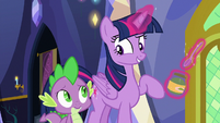 "Twilight Sparkle ""I just have to feed her"" S7E3"