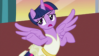"Twilight Sparkle ""fair enough"" S7E10"