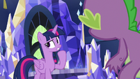 Twilight Sparkle -had to distract Thorax- S7E15