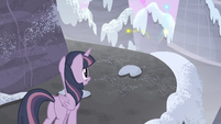 Twilight sees her and her friends' cutie marks flying S5E02