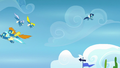 Wonderbolts soaring through the sky S7E23.png
