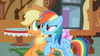 Applejack And Rainbow Dash immortalized S2E08