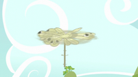 Dragonfly toy spinning S5E17