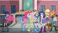 Equestria Girls Friendship Games Facebook promo banner