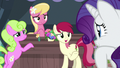 Flower trio eager to help Rarity S7E19.png