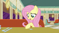 Fluttershy moving fork while talking to Lede S6E9.png