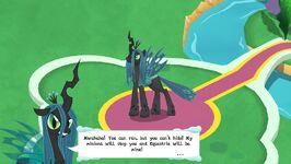 MLP Game Queen Cutscene
