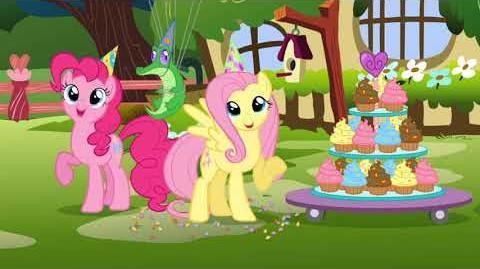 My Little Pony Gelukkige verjaardag!