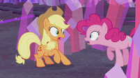 "Pinkie Pie ""what are you doing here?"" S5E20"