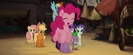 Pinkie Pie following Capper MLPTM