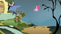 Pinkie Pie thrown S2E19.png