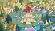 Ponyville town square S01E05