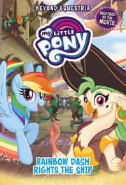 Portada de My Little Pony Rainbow Dash Rights the Ship