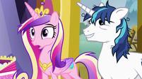 "Princess Cadance ""isn't that what I said"" S7E3"