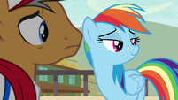 RD and Quibble look over at Wind Sprint S9E6