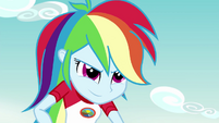 Rainbow Dash looking super-confident EG4