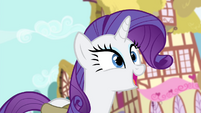 "Rarity ""simply buzzing with ideas"" S4E23"