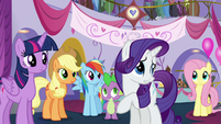 Rarity -I don't think she meant to- S5E14