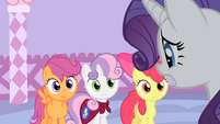 Rarity looks stressed S1E17