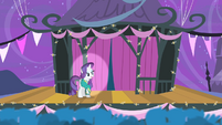 Rarity on the stage S4E14