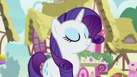 Rarity proud of her own decision S7E9