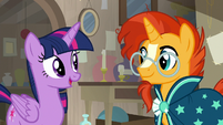 "Twilight ""I'm glad you're in the antique store"" S7E24"