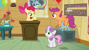 Apple Bloom calls dream meeting to order S5E4