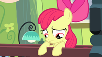 Apple Bloom on her bed S4E17 (1)