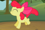 Apple Bloom table