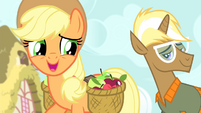 Applejack 'Uh, gee, thanks' S4E13