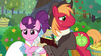 Big Mac and Sugar Belle husband and wife S9E23