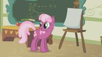 Cheerilee talking in front of class S1E12