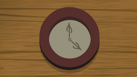 Clock on a wall at Cutie Mark Day Camp S7E21