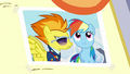 Close-up on photo of Rainbow and Spitfire S7E7.png