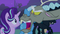 Discord angry --they took Fluttershy--- S6E25