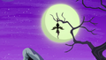 Flutterbat hanging from a tree branch S5E21.png