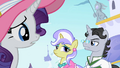 Jet Set knowing Rarity is from Ponyville S2E9.png