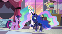 "Luna ""thanks to you and your friends"" S9E17"