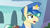 Mail Pony sighing heavily S8E8