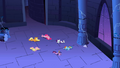 Main 6 ponies knocked out S1E2.png