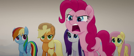 """Pinkie """"the queen was going to say yes!"""" MLPTM"""