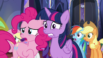 Pinkie -Is it okay to be nervous now-- S5E11