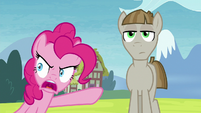 Pinkie Pie -did he put you up to this-!- S8E3