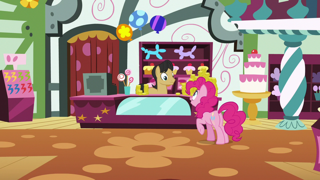 File:Pinkie asks about glowing, flying, self-folding napkins S7E12.png